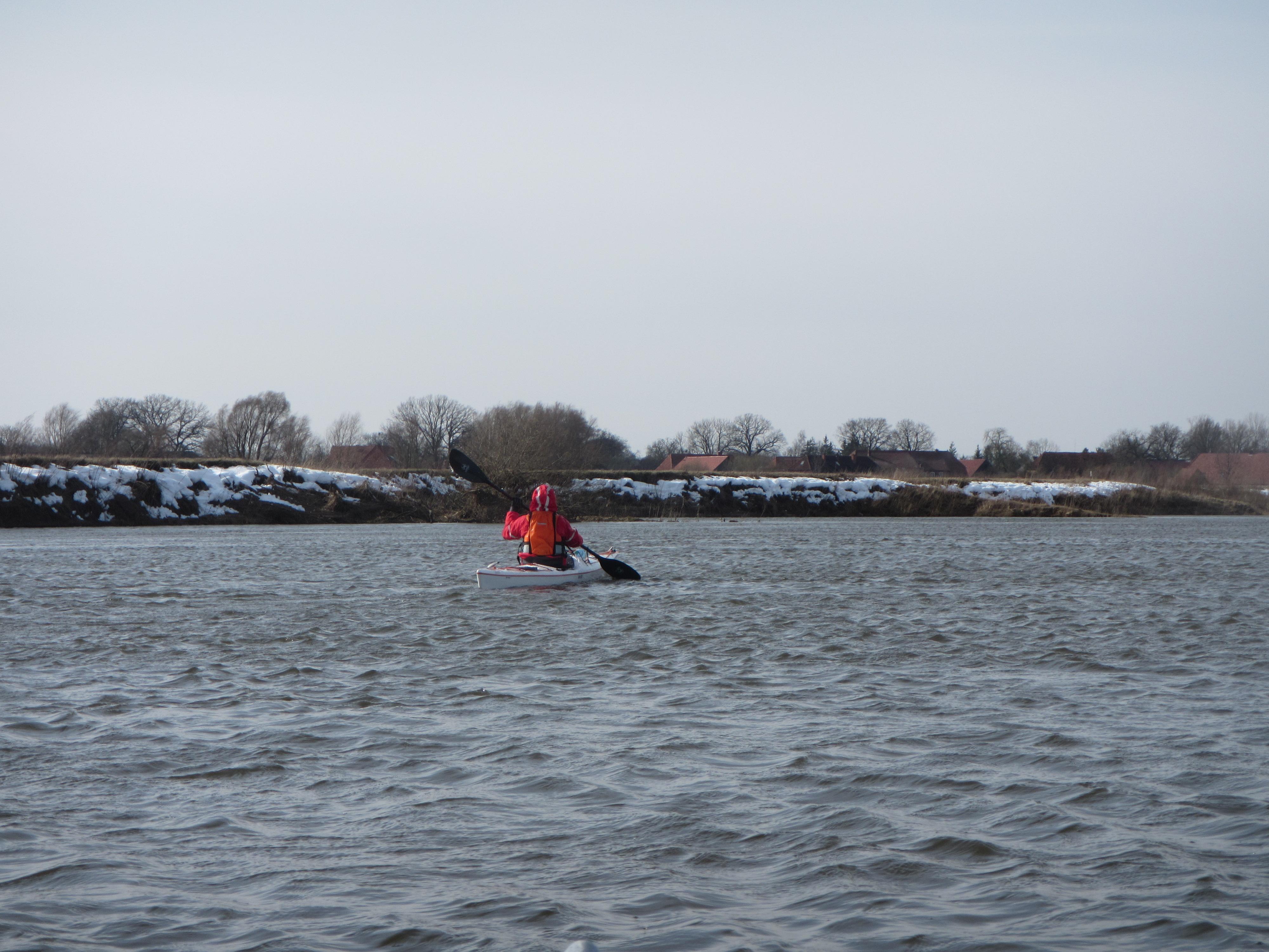 Aller Hochwasser Rallye Schnee