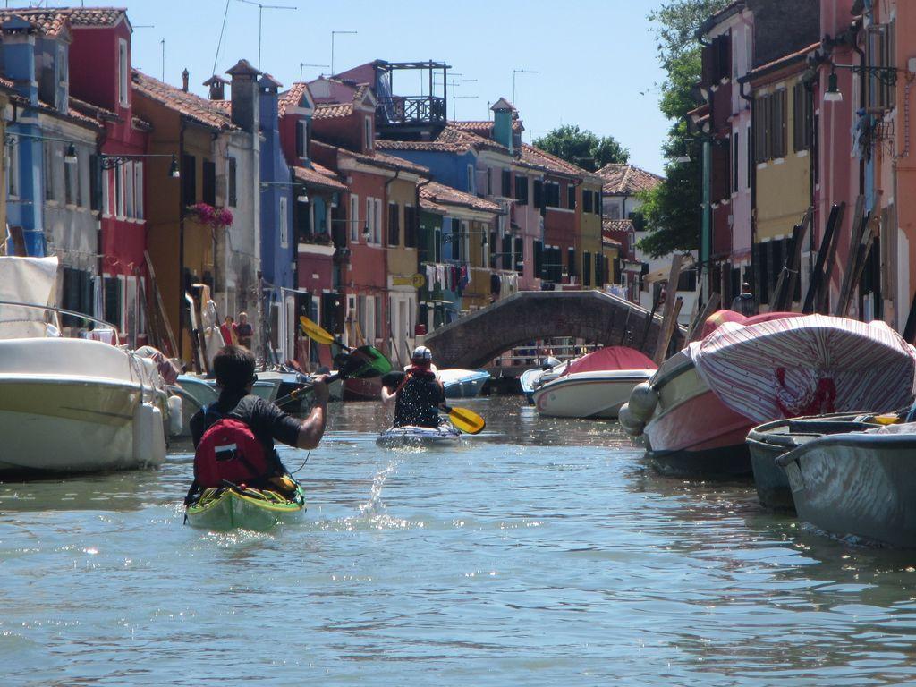 Paddeln auf's durchlauchtigste – eine Woche in der Lagune von Venedig