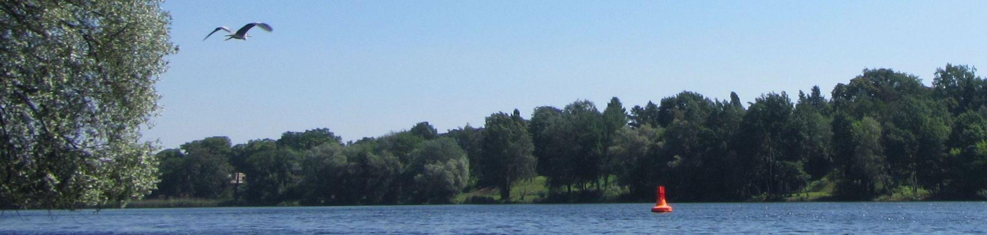 Einsitzen am Griebnitzsee
